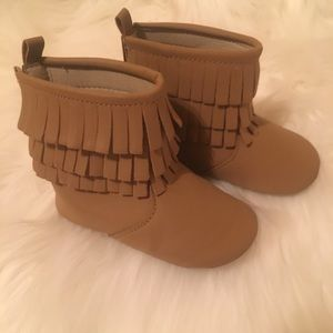 Old Navy Fringe Boots infant 12/18